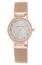 Anne Klein Mesh Strap Watch 30Mm