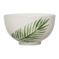 Bloomingville Jade Stoneware Fern Bowl Natural Green