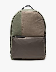 3.1 Phillip Lim 31 Hour Patchwork Backpack Army