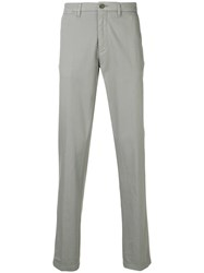 Corneliani Straight Leg Chinos Grey