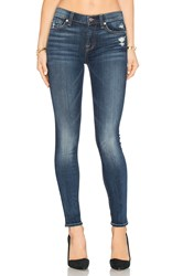 7 For All Mankind The Squiggle Distressed Skinny Crete Island