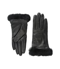 Ugg Classic Leather Smart Glove Black Dress Gloves