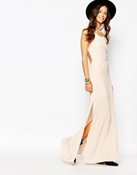 Goldie Bliss Maxi Dress With Strap Detail Pink