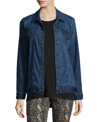 Cj By Cookie Johnson Deliverance Long Denim Jacket