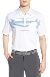 Travis Mathew Men's Donna Jersey Polo
