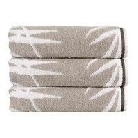 Christy Bamboo Towel Silver Beige