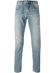 Mcq By Alexander Mcqueen Distressed Slim Fit Jeans