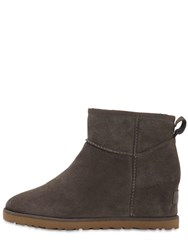 Ugg 60Mm Femme Shearling Boots Grey