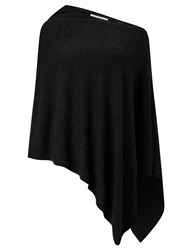 John Lewis Cashmere Poncho Charcoal