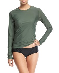 Cover Perfect Upf 50 Long Sleeve Swim Tee Green