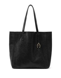 Etienne Aigner Joan Leather Tote Black