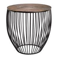 Pols Potten Wire And Brass Side Table