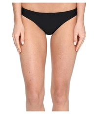 Speedo Solid Bikini Bottom Black Women's Swimwear