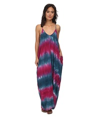 Gabriella Rocha Alvera Dress Teal Berry Women's Dress Mahogany