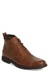 Tommy Bahama Men's 'Labane Mid' Cap Toe Boot Tan