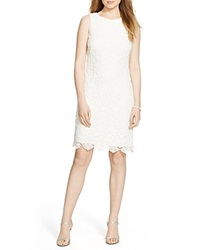 Lauren Ralph Lauren Dress Boat Neck Lace Lauren White