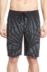 Rvca Men's Big And Tall Dayoh 20 Board Shorts Black