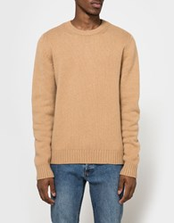 A.P.C. Shortbread Sweater Camel