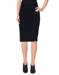 Patrizia Pepe Skirts Knee Length Skirts Women Dark Blue