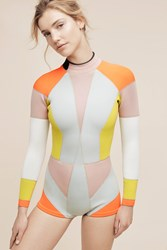 Anthropologie Cynthia Rowley Colorblock Wetsuit Assorted