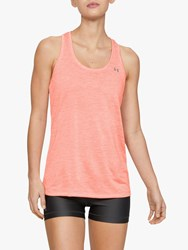Under Armour Twist Tech Training Tank Top Peach Plasma