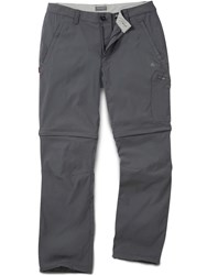 Craghoppers Men's Nosilife Pro Convertible Trousers Grey