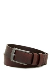 English Laundry Leather Jean Belt Brown