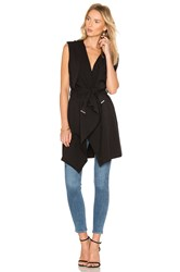 Soia And Kyo Lilian Vest Black