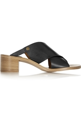 Chloe Leather Mules
