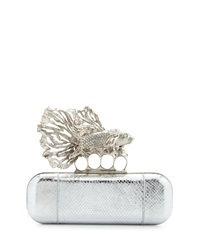 Jeweled Fish Long Knuckle Box Clutch Bag Alexander Mcqueen