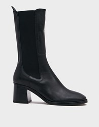 Miista Macy Boot In Black Size 36 Leather