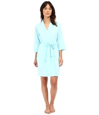 Jockey Cotton Essentials Robe Surf Blue Women's Robe