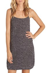 Billabong Women's Night Out Print Minidress Black White Print