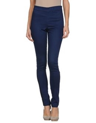 Victoria Beckham Casual Pants Blue