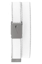 Nike Men's Knit Web Belt White