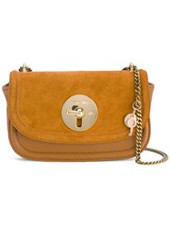 See By Chloe Lois Cross Body Bag Women Cotton Calf Leather Calf Suede One Size Brown