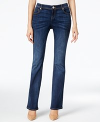 Inc International Concepts Indigo Wash Slim Bootcut Jeans Only At Macy's