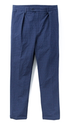 Camo Jfk New Classic Trousers Blue