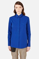 Acne Studios Momo Pop Shirt Electric Blue