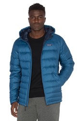 Patagonia Hi Loft Down Sweater Hoody Blue