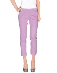 Armani Jeans Trousers Casual Trousers Women Lilac