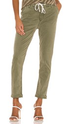 Paige Christy Pant In Green. Vintage Coastal Green