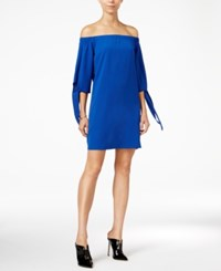Bar Iii Off The Shoulder Shift Dress Only At Macy's Lazulite