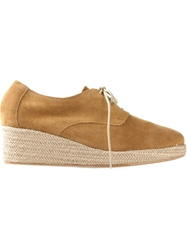 Sessun Espadrille Wedge Lace Up Shoes
