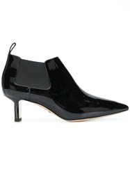 Paul Andrew Pointed Stiletto Boots Black