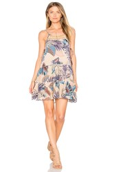 Raga Tropic Vibes Short Dress Tan