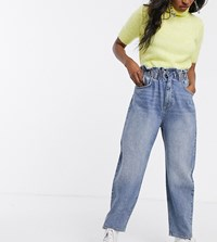 Reclaimed Vintage Inspired The '91 Mom Jean With High Waist Blue