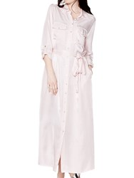 Ghost Aria Dress Pale Pink