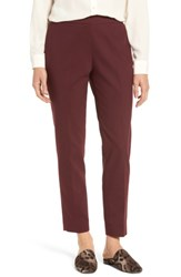 Chaus Women's Jackie Pull On Ankle Pants Dark Burgundy