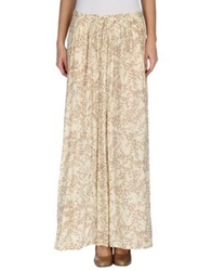 Attic And Barn Attic And Barn Long Skirts Beige